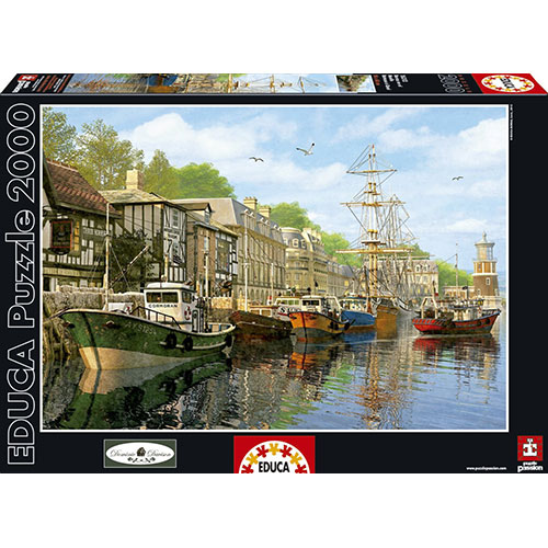 Educa 2000pc Harbor Puzzle