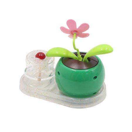 Green Apple Flower Shaped Car Perfume Base Air Freshener Fragrance Decoration - image 2 of 2