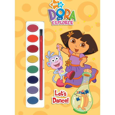 Let's Dance! (Dora the Explorer)](Dora The Explorer Coloring Pages Halloween)