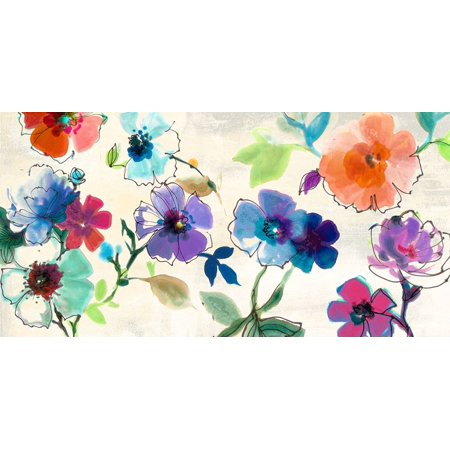 Floral Fantasy Poster Print by Clair Michelle