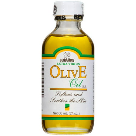 BenJamins Extra Virgin OlivE Oil Softens and Soothes The Skin  2 fl