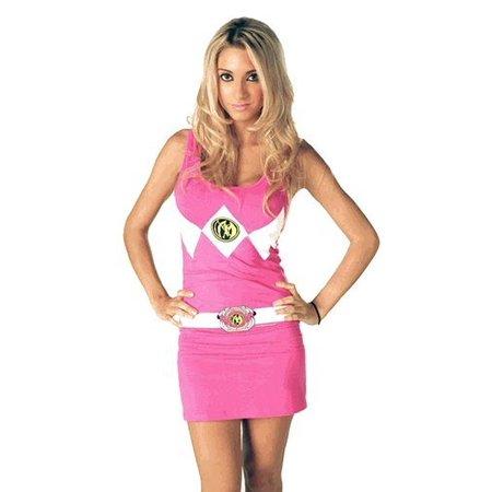 Power Rangers Sexy Tunic Pink Tank Dress - Power Ranger Dress