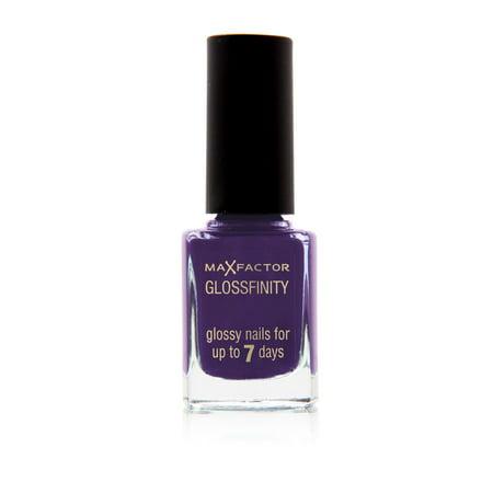 Max Factor Glossfinity Nail Polish 150 Amethyst (Purple Nail Art)