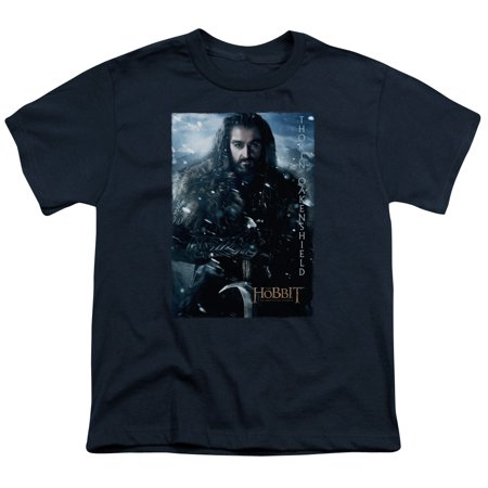 The Hobbit Thorin Poster Big Boys Youth Shirt - The Hobbit Thorin
