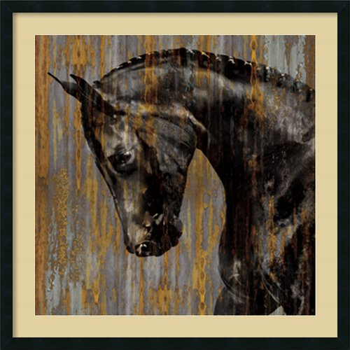 Amanti Art 'Horse I' by Martin Rose Framed Painting Print by Amanti Art