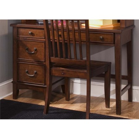 Liberty Furniture Chelsea Square Student Desk in Burnished Tobacco - image 10 of 10