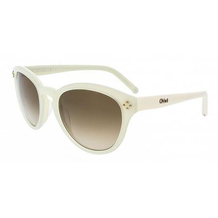 Chloe CE630S 102 Ivory/Cream Round Chloe sunglasses