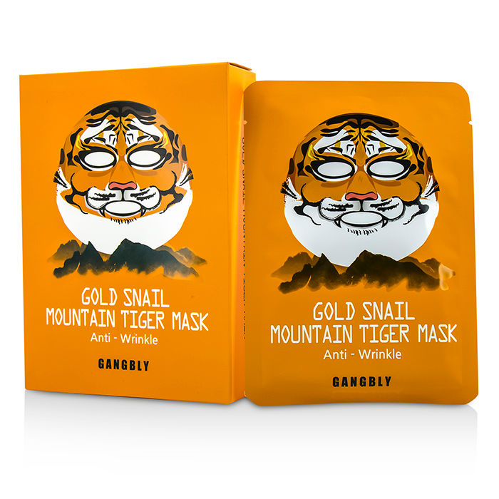 Gangbly - Mountain Tiger Mask - Gold Snail - 10x27ml