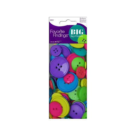 Blumenthal Big Bag Of Buttons 3 5Oz Carnival