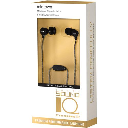 PNY Premium 100 Series Earphones with Microphone