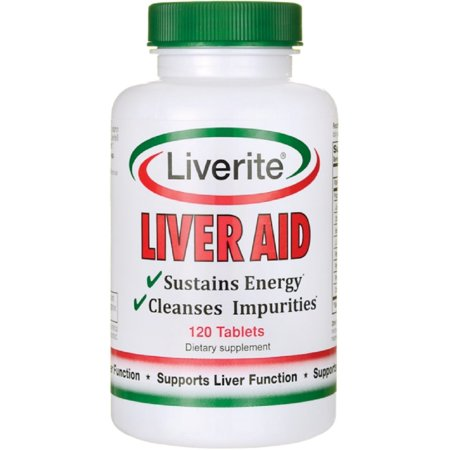 Liverite The Ultimate Liver Aid 120 ea (Liver Aid)