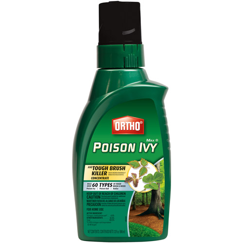 Ortho MAX Poison Ivy & Tough Brush Killer Concentrate, 32 oz
