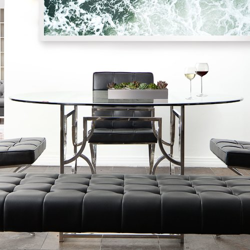 Diamond Sofa Avalon Dining Table