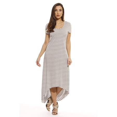 6acc6c83c5d Just Love - Just Love Maxi Dress   Summer Dresses (Heathered Grey    Oatmeal