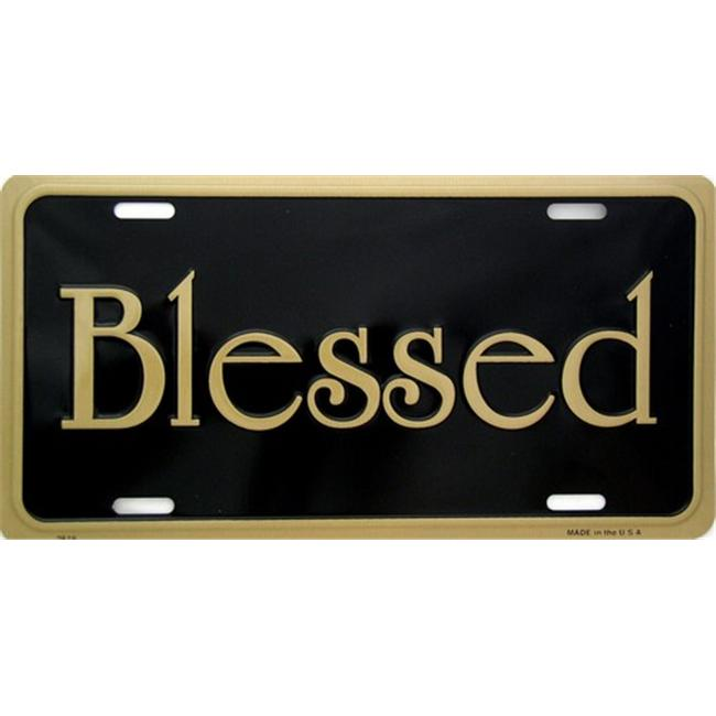 LP - 248 Blessed License Plate - 2619