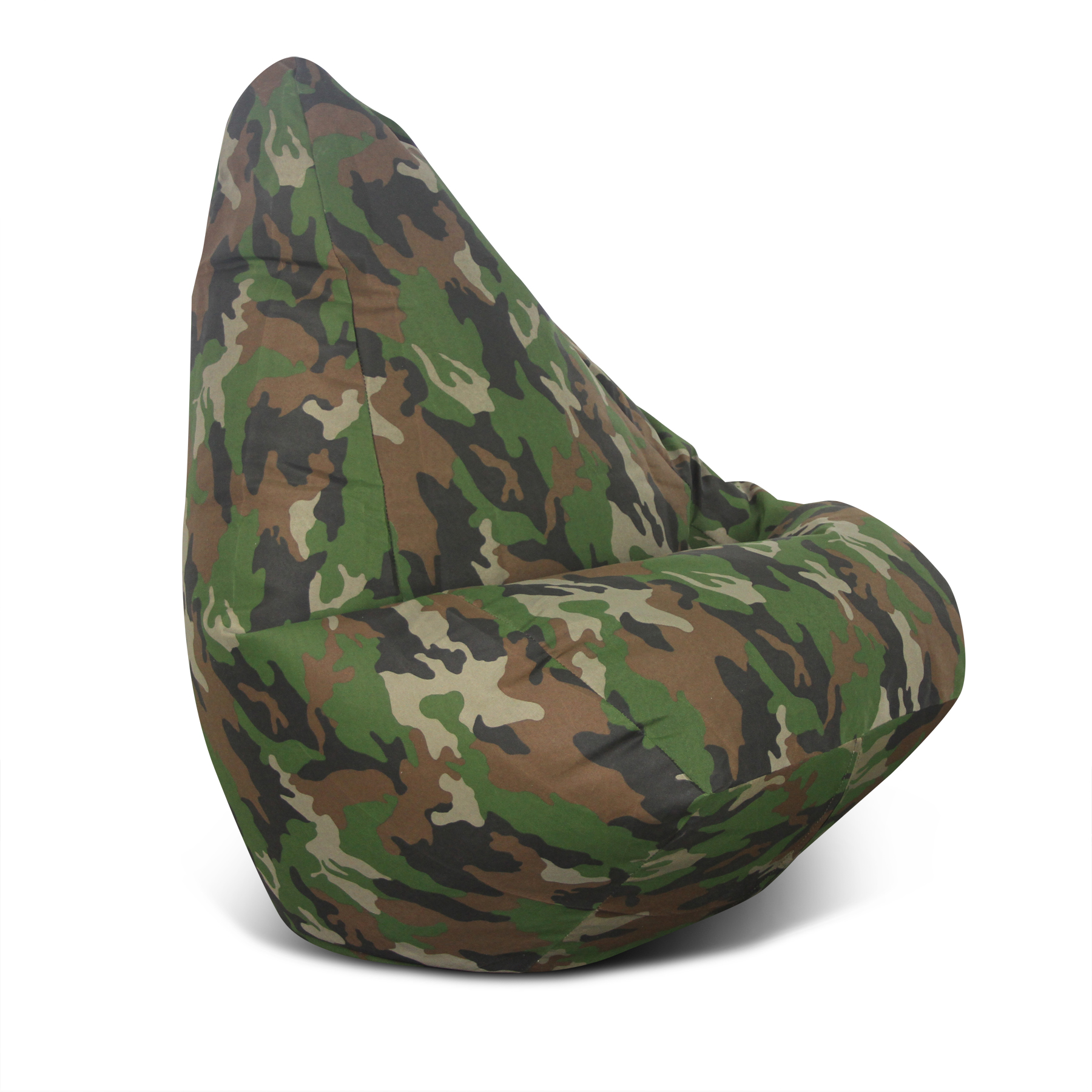 Large Green Camo Bean Bag
