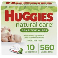 Huggies Natural Care Wipes (Choose Your Count)
