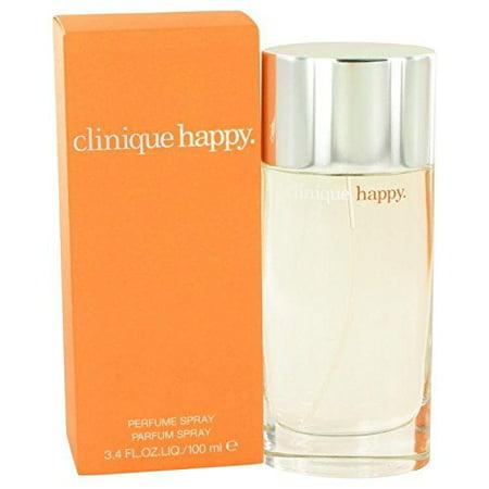 Clinique Citrus Perfume (Happy by Clinique Eau De Parfum Spray 3.4 oz Women )
