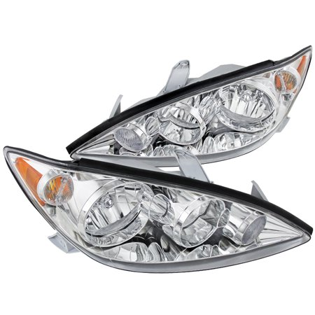 Toyota Camry Right Headlight - Spec-D Tuning 2002-2006 Toyota Camry Jdm Style Headlights Head Lamps 2005 2006 (Left + Right)