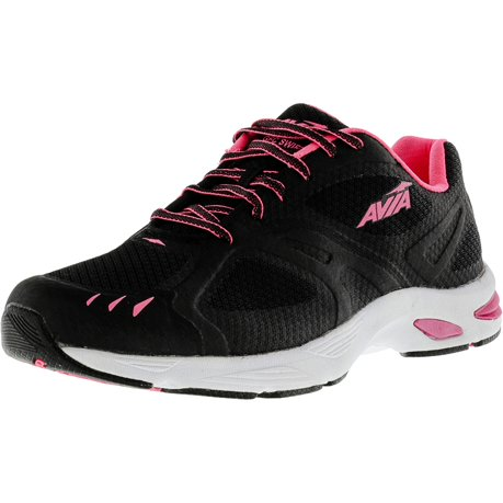 Avia Shoes Black And Pink