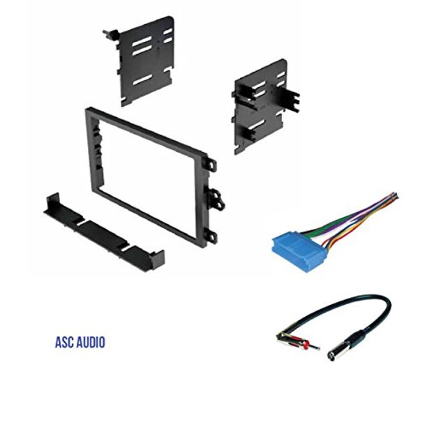 [SCHEMATICS_4CA]  ASC Double Din Car Stereo Dash Kit, Wire Harness, Antenna Adapter for some  Buick 97-03 Century, 95-99 LeSabre, 95-2004 Park Avenue, 95-2003 Regal,  96-1999 Riviera, 1995-1996 Roadmaster,96-1998 Skylark - Walmart.com -  Walmart.com | 1998 Buick Century Stereo Wiring |  | Walmart
