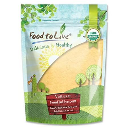 Food To Live certifié racine de maca en poudre biologique (non-OGM, Terre Crue Racine de maca, la farine, en vrac) (4 livres)