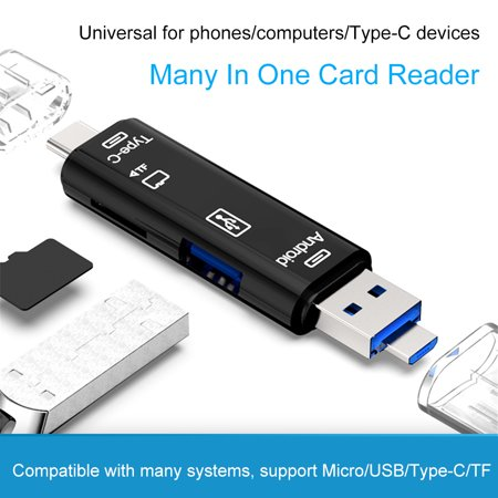 USB OTG Connection Kit and Card Reader for Android Letv Micro-c Phone / Computer / Micro-c Universal Support TF ()