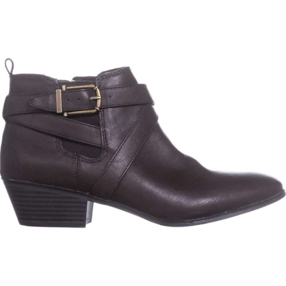Style & Co. Womens Harperr Leather Almond Toe Ankle Fashion - image 1 of 2