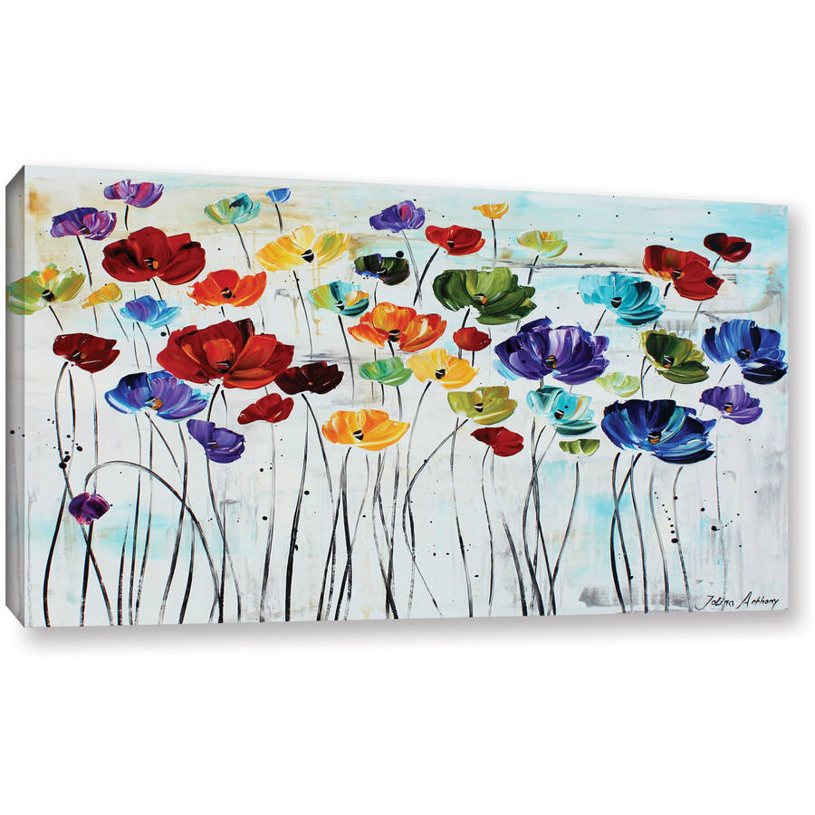 "ArtWall Jolina Anthony ""Lilies"" Gallery-Wrapped Canvas"