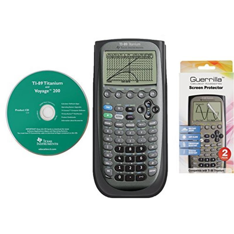 Texas Instruments TI 89 Titanium Graphing Calculator With...