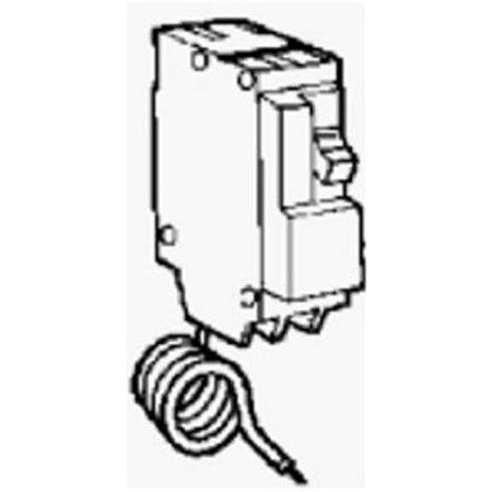 20 Amp, Single Pole, Ground Fault Breaker, Self - Amp Ground Fault Breaker
