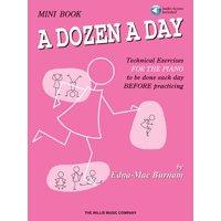 A Dozen a Day Mini Book - Book/Audio (Other)