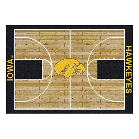 Milliken Ncaa College Home Court Area Rugs - Contemporary 01110 Ncaa College Basketball Sports Novelty Rug