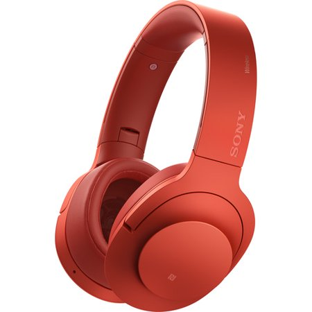 Sony H.ear on Wireless NC Headphone, Red (MDR100ABN/R)