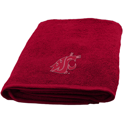 NCAA Applique Bath Towel, Washington State