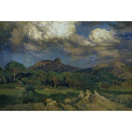The Driads   Les Dryades  Rene Menard  Marie Auguste Emile   1862 1930French  Petit Palais Paris   Canvas Art   Rene Menard  18 X 24