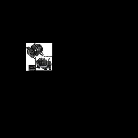 APDTY 621315 LDP Emissions Leak Detection Pump Fits 02-04 Grand Cherokee  03-04 Wrangler 98-00 Sebring 02 Prowler 96-00 Avenger 98 B1500 Van 99-03  Ram