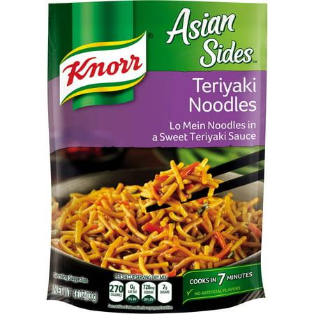 Knorr Asian Sides Teriyaki Noodles Pasta Side Dish 4 6 Oz