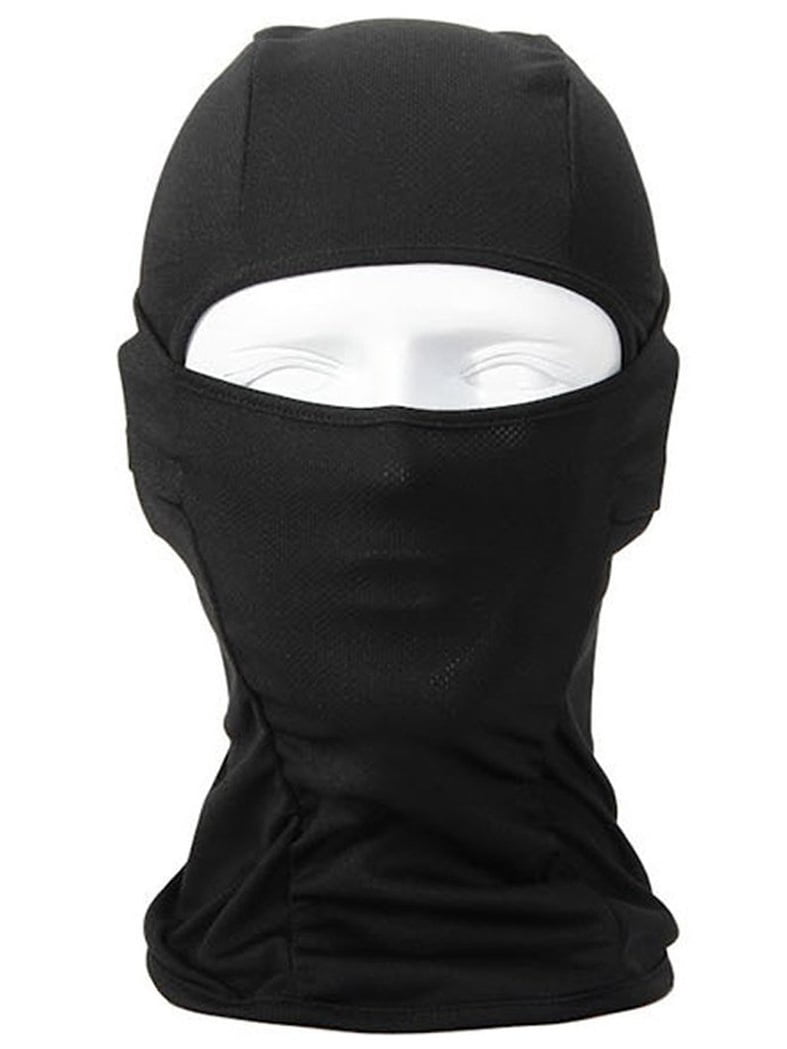 Full Face Cover Ski Mask Three 3 Hole Balaclava Knit Winter Hat Face Mask Bike