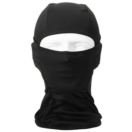 Outgeek Ski Mask Black Balaclava Full Face Mask Motorcycle Cycling (Diamond Tactical Full Face Protection Ghost Balaclava Mask)