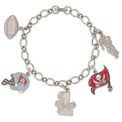NFL - Tampa Bay Buccaneers 5 Charm Bracelet