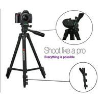 "AGFAPHOTO 50"" Tripod For Panasonic HC-WXF991 HC-VX981 HC-V380 HC-V180 HC-W580"