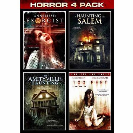 Horror 4-Pack: Anneliese: Exorcist / A Haunging In Salem / The Amityville Haunting / 100 Feet