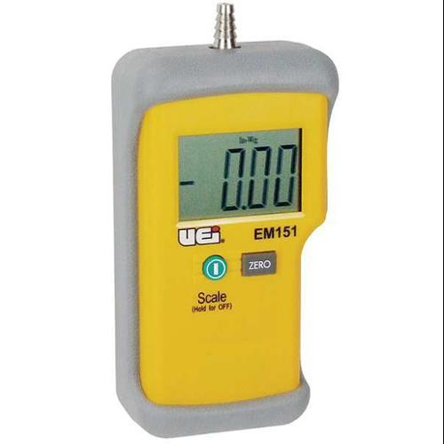 UEI TEST INSTRUMENTS EM151, Single Input Digital Manometer
