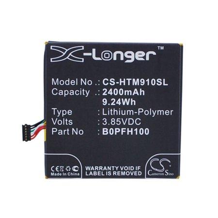 Cameron Sino 2400mAh /9.24Wh Battery Compatible With HTC Desire Eye,  Desire Eye 4G,  Desire Eye Dual SIM,  0PFH110,  M910n,  0P9FH100,  (Htc Dual Sim)