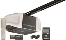 Chamberlain Whisper Drive 1 2 Hp Belt Drive Garage Door Opener Access System With 2 Remote... by Chamberlain