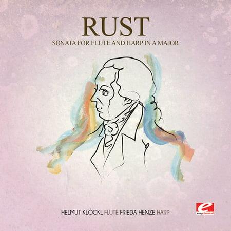Allegro Single - Rust - Allegro From Sonata Flute Harp in a Major