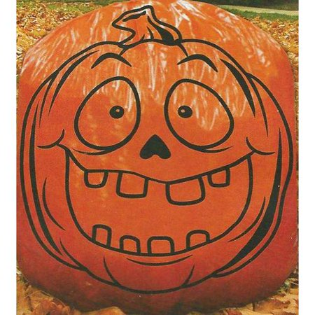 "Halloween Giant Pumpkin Lawn Bag 36""x60"" - image 2 of 3"