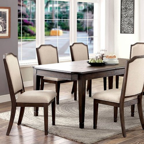 Charlton Home Roesch Transitional 6 Piece Solid Wood Dining Table