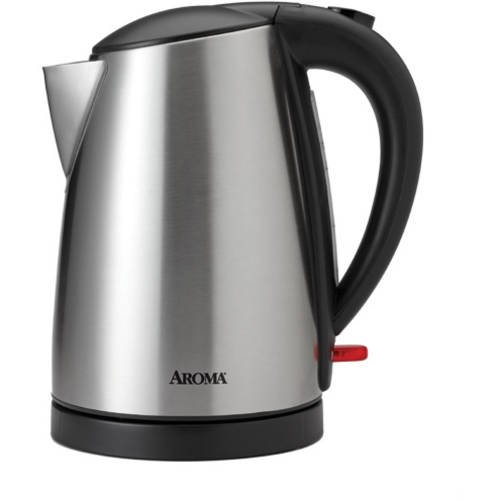 Electric Kettle Product ~ Aroma l electric kettle stainless steel walmart